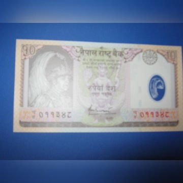 Nepal - 10 Rupees - Polimer ,UNC