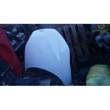 Maska Audi TT 8S uszkodzona biala kolor LY9C
