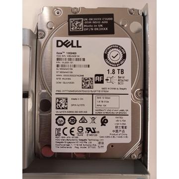 Dell 1XJ233-151 - 1.8TB 10K RPM 12Gbps SAS 512e 2.