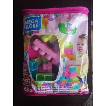 Mega bloks dla dziewczynki 60szt
