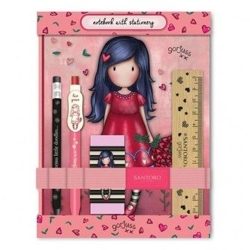 Notes, pamiętnik Gorjuss Sparkle & Bloom