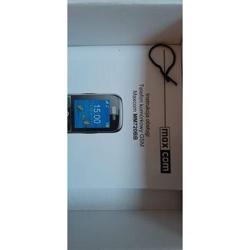 Telefon Komórkowy MAX COM dla starszych osób.