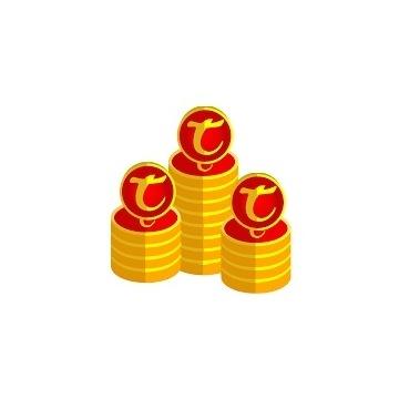 1250 Tibia Coins Każdy Świat