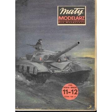 Mały Modelarz 11-12 1985 T-72 czołg średni model