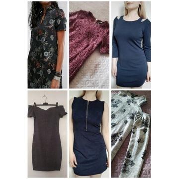 Zestaw sukienek na lato XS: Mohito Sinsay H&M