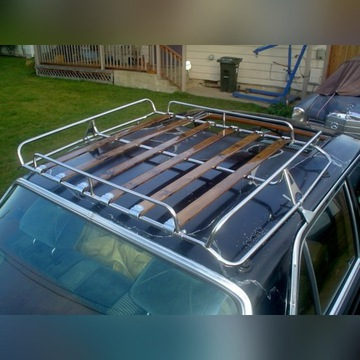 Bagażnik dachowy retro VW 125 126 PRL Oldtimer