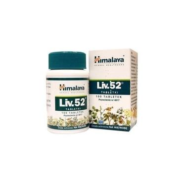 Himalaya Liv 52 100 tabletek - na wątrobę - APTEKA