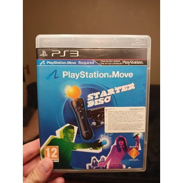 Starter Disc PlayStation MOVE PS3