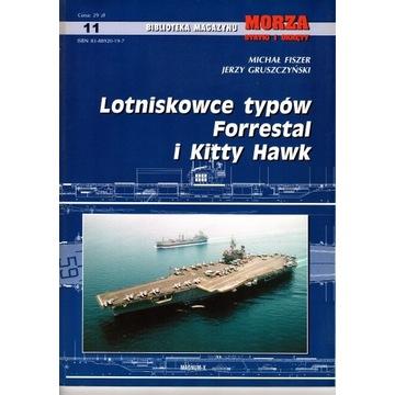 MSiO Lotniskowce Forrestal i Kitty Hawk.