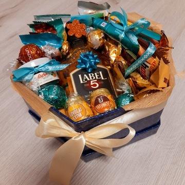 Pudełko pełne słodyczy