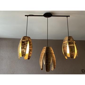Lampa bambusowa (regulowana)