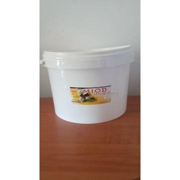Miód Pszczeli   Akacjowy  wiadra 5 kg