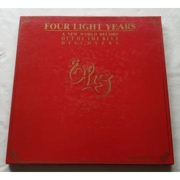 ELO Four Light Years 4LP EX HOL Press