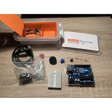 Arduino UNO rev 3 WORKSHOP KIT