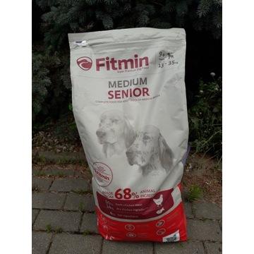 karma dla psa FITMIN senior plus karma na stawy
