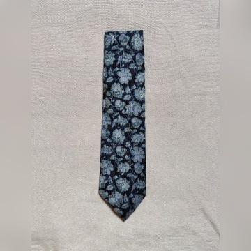 Luksusowy krawat jedwabny Givenchy