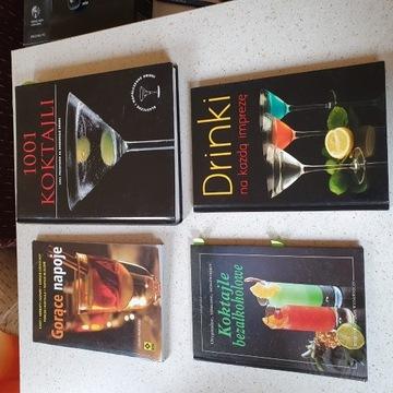 Książki do drinków i koktajli - 4 sztuki