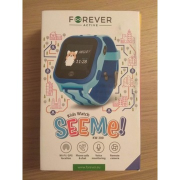 Forever Active Kids Watch See Me! KW-300