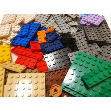 LEGO ponad 240 el. - płytki, cegły, skosy...