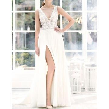 Suknia Ślubna Agnes 38roz.