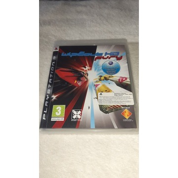 WIPEOUT HD FURY PS3 - z prywatnej kolekcji