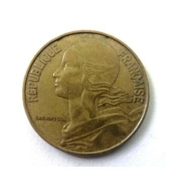 Moneta 20 centimes 1964