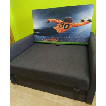 Sofa rozkładana jednoosobowa (fotel)