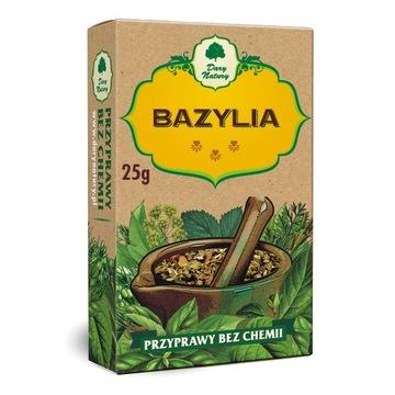 Bazylia 25 g, przyprawa, Dary Natury