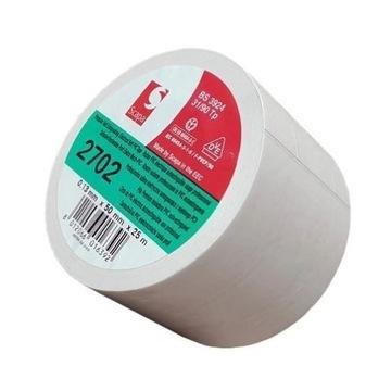 Taśma do podłóg baletowych PVC 50mm/25m biała