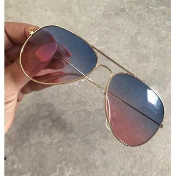 Okulary logowane ray ban repliki bez wad