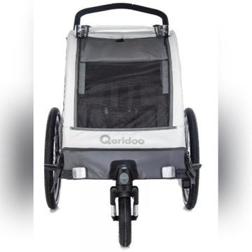 Przyczepka rowerowa Qeridoo Kidgoo 1