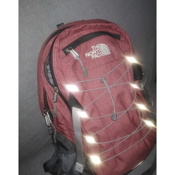 Plecak The North Face Borealis - ciemny róż/ szary