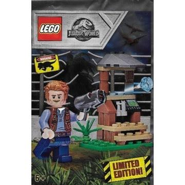 LEGO JURASSIC WORLD OWEN WIEŻA OBSERWACYJNA