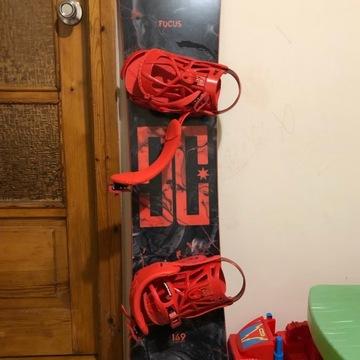 Snowboard Dc Focus Freestyle Medium