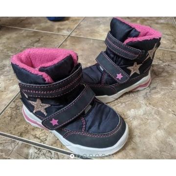 Śniegowce Lupillu 22, buty buciki zimowe dla GIRL