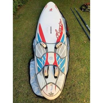 Zestaw sprzęt windsurfing deska pędnik żagiel
