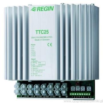 Regulator mocy nagrzewnicy Regin TTC25X