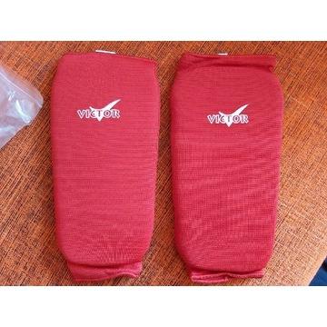 Ochraniacze elastyczne na piszczele, XL, Victor