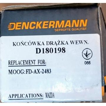 DENCKERMANN KOŃCÓWKA DRĄŻKA D180198