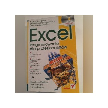 Excel Programowanie dla profesjonalistów