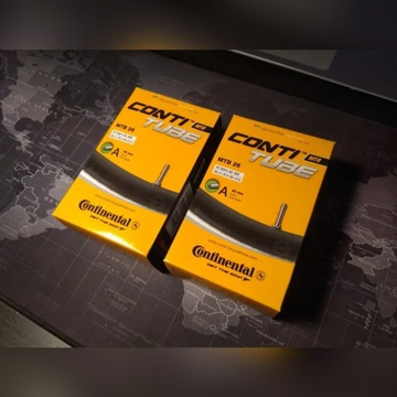 """Dętka Continental 26"""" 1,75-2,5 AUTO AV 40mm"""