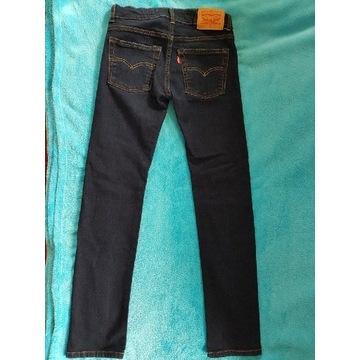 Spodnie jeans Levi's r. 152 jak NOWE