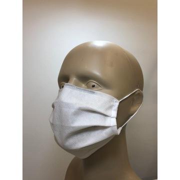 Maska OCHRONNA wielorazowa - 3 warstwowa [50szt]