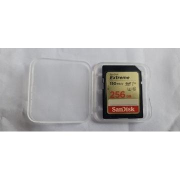 Karta SD 256 GB 150mb/s