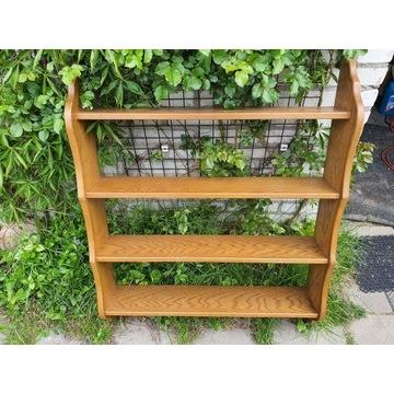 Stara drewniana półka -4 poziomy