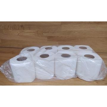 Papier toaletowy 60m ,8 rolek, celuloza!!