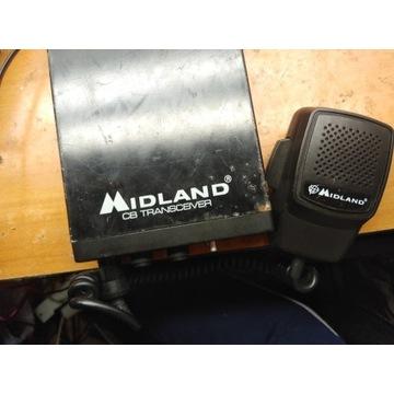 CB radio Midland chyba sprawne brak anteny