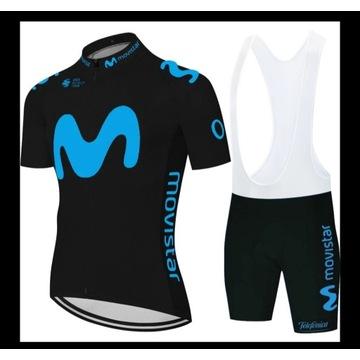 komplet strój rowerowy M