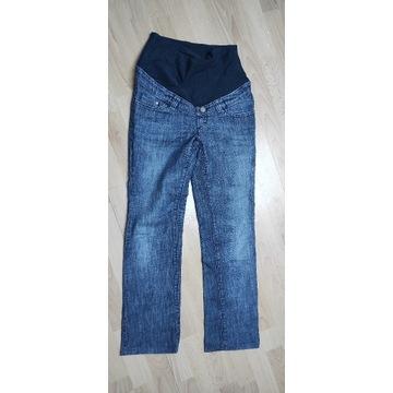 H&M MAMA Spodnie jeansy ciążowe S 41cm