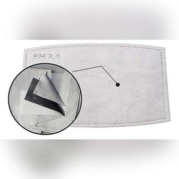 Filtr węglowy N95 L/XL - 5 sztuk